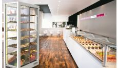 Refrigerated chocolate display case