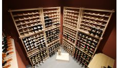 Installation of customised wine store