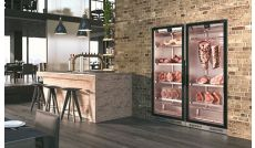 Meat refrigerated display case
