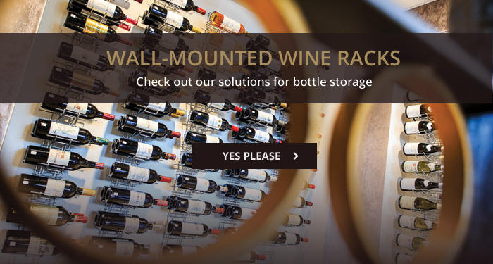 Wall-mounted Wine Racks: check out our solutions!