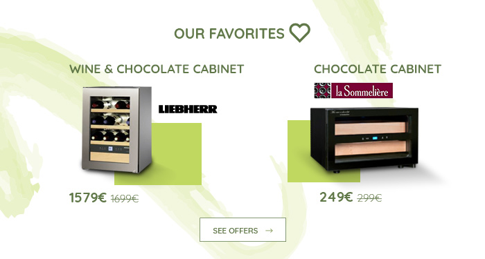 Chocolate cabinet
