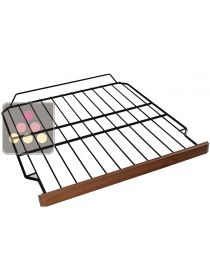 Steel wire storage shelf with wooden front for CLIMAGAN ACI-CLI420 wine cabinet CLIMADIFF