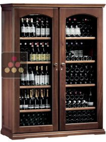 Combined 2 Single temperature wine service & storage cabinets CALICE