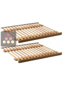 Set of 2 storage shelves: Premium BGN for the DIVA range AVINTAGE