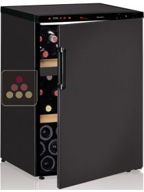 Dual temperature wine cabinet for ageing and service CALICE