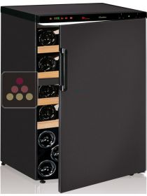 Dual temperature wine cabinet for serving and ageing CALICE