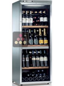 Dual temperature wine service and storage cabinet  CALICE