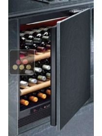 Single temperature built in wine cabinet for ageing or service CALICE
