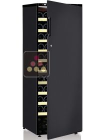 Dual temperature wine cabinet for ageing and and serving chilled wines CALICE