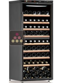 Dual temperature wine cabinet for service and storage CALICE