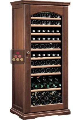 Multi-Temperature wine storage and service cabinet