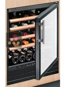 Mono-temperature Wine Cabinet for preservation or service - can be built-in CALICE