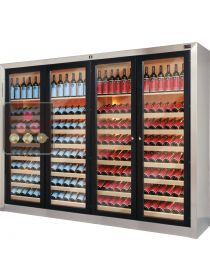 Dual temperature contemporary wine cabinets  ELLEMME