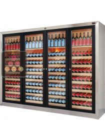 Triple temperature contemporary wine cabinets  ELLEMME