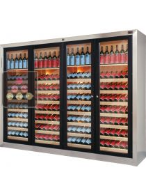 4 temperature contemporary wine cabinets  ELLEMME