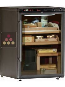Cigar Humidor with temperature and hygrometry management CALICE
