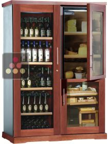 Gourmet combination : wine cabinet, cigar humidor & cheese cabinet CALICE