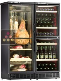 Combination of two wine service cabinets & cold meat cabinet CALICE