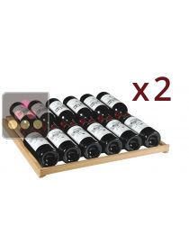 Set of 2 universal shelves for the Oxygen range ARTEVINO