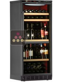 Dual temperature wine cabinet for storage and service - can be built-in CALICE