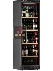 Dual temperature built in wine cabinet for storage and service CALICE