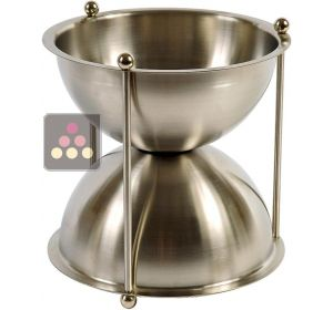 Stainless steel spittoon - 4 litre Ma Cave à Vin