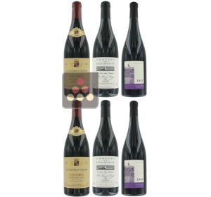 Selection of 6 Red Wines - Great wines from Languedoc-Roussillon Sélection Vin