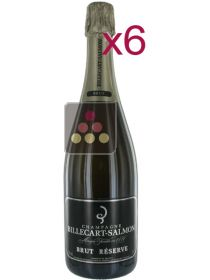6 Bottles of Billecart-Salmon Champagne Brut Sélection Vin
