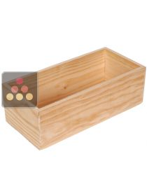 Wooden storage drawer for Cavideco Double Totem CAVIDÉCO PIERRE GOUJON