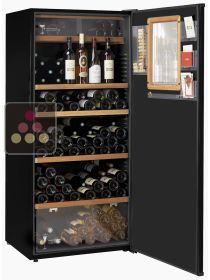 Multipurpose cabinet for storage and service of chilled and room temperature wines CLIMADIFF