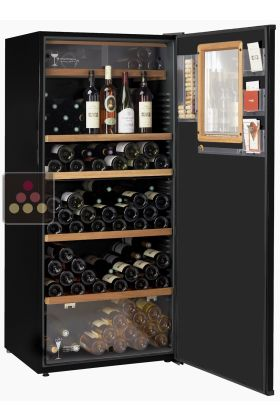 Multipurpose Cabinet For Storage And Service Of Chilled And Room  Temperature Wines
