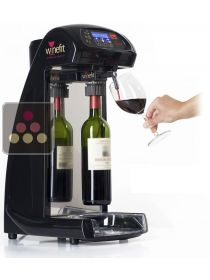 Wine dispenser for 75cl bottles and Magnums + 4 corks + 2 Argon cartridges WINEFIT