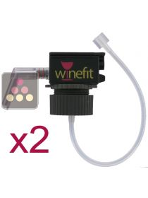 Set of 2 corks for Winefit dispenser WINEFIT