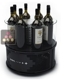 Single temperature cooler for 8 wine & champagne bottles SAYL