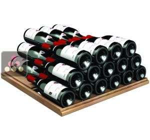 Beechwood Storage shelf - capacity 12 bottles for 2013 Prestige Range TRANSTHERM