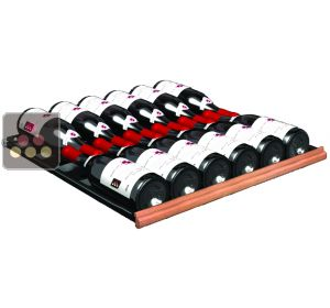 High-impact PS sliding metal 12 bottle shelf for 2013 Prestige Range TRANSTHERM