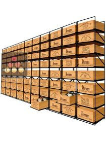 The only solution for storing 80 cases of wine and 960 bottles MODULORACK