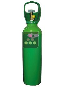 Gas supply bottle 2.16m3 - Nitrogen/CO2 WINE TASTE
