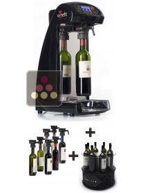 By the glass wine dispenser + Single-temperature Wine cooler for 8 Bottles WINEFIT