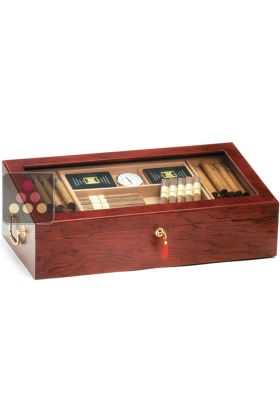 Glass Cigar humidor