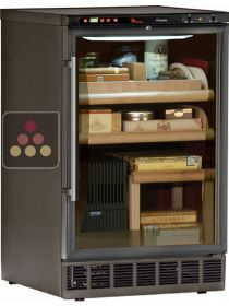 Built-in cigar Humidor with temperature and hygrometry management CALICE