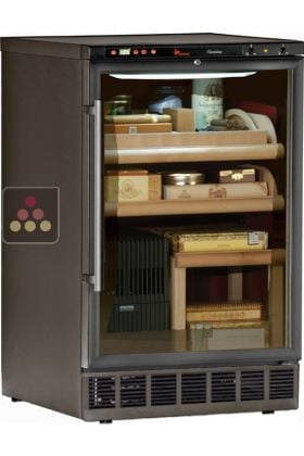Built In Cigar Humidor With Temperature And Hygrometry