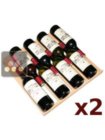 Set of 2 standard shelves for the Vinéo range ARTEVINO
