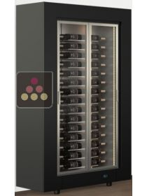 Freestanding multi-purpose wine cabinet for storage or service CALICE