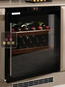 Single temperature built in wine service cabinet - Right hinged NORCOOL