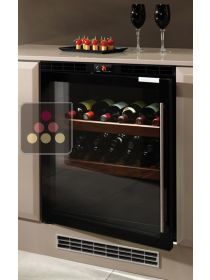 Single temperature built in wine service cabinet - Left hinged NORCOOL