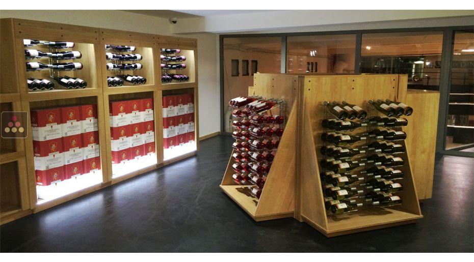 The Wine Cabinet VISIORACK WINE WALL ACI VIS500 Final Display :