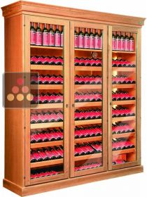 Single temperature wine storage or service cabinet ELLEMME
