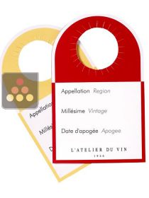 40 cellar identification labels L'ATELIER du VIN
