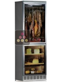 Combination of built in cold meat & cheese cabinets for up to 100kg CALICE
